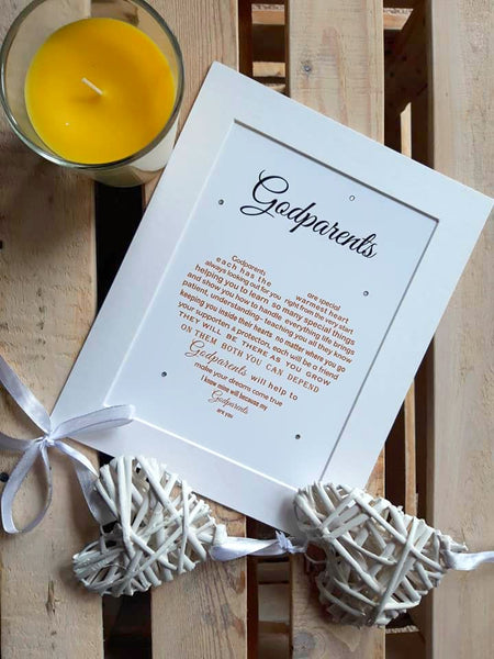 Godparents Gift -Thank You Gift for Godparents