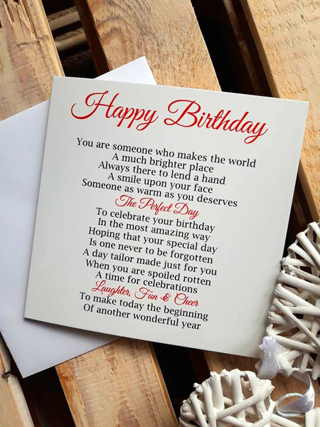 Birthday Card - Special Offer