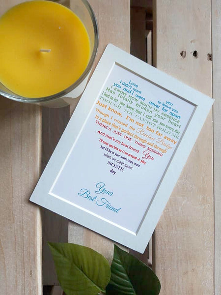 Pet loss Gift - Personalised Poem print