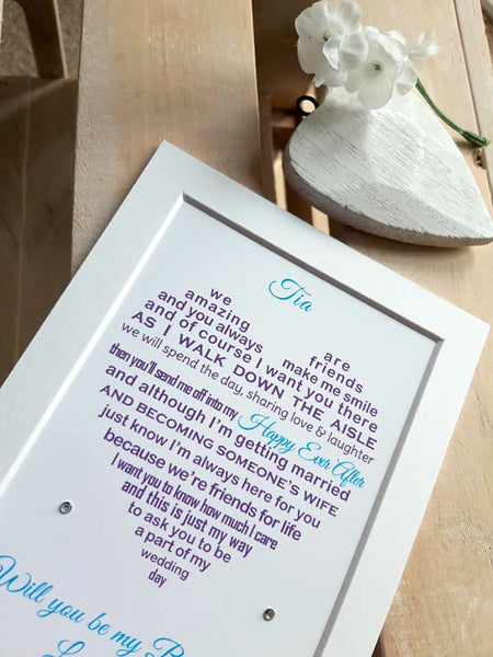 Will You Be My Bridesmaid - Bridesmaid Proposal Gift