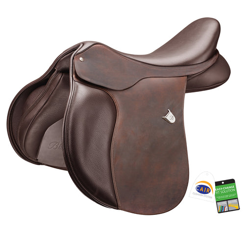 Bates All Purpose Square Cantle Saddle (CAIR) Heritage Leather