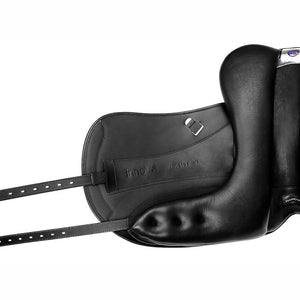 Bates Innova Monoflap Dressage (CAIR) + Luxe Leather