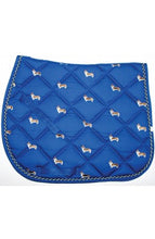 Load image into Gallery viewer, Lettia Embroidered All Purpose Saddle Pad