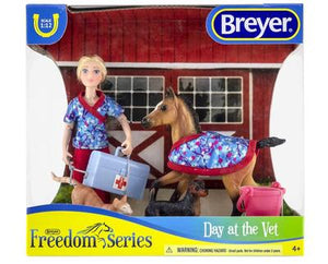 Breyer Day at the Vet Set