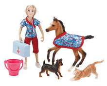 Load image into Gallery viewer, Breyer Day at the Vet Set