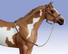 Load image into Gallery viewer, Breyer Leather Halter and Lead Set