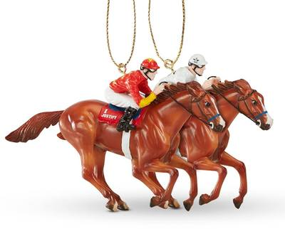 Breyer Justify Christmas Ornament