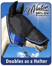 Load image into Gallery viewer, Uviator Fly Mask w/Nose & Ears