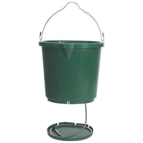 Heated Flat Back Bucket - 5 gallon