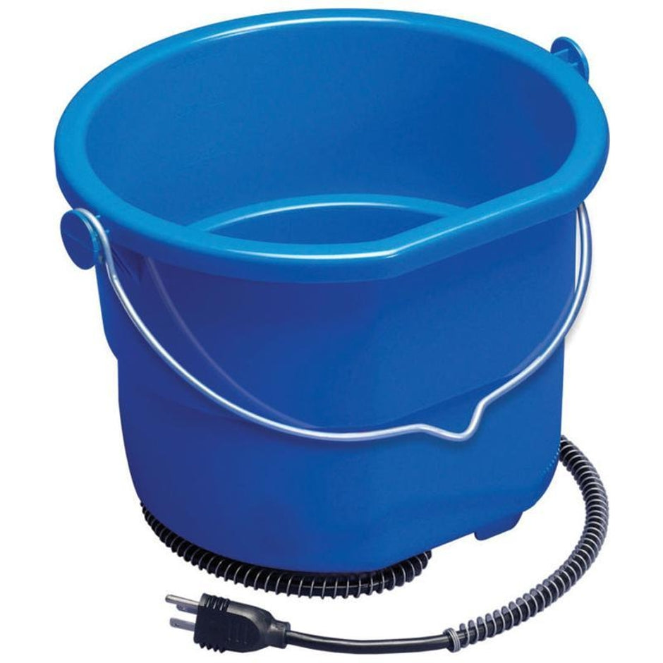 Heated Flat Back Bucket - 2.5 gallon