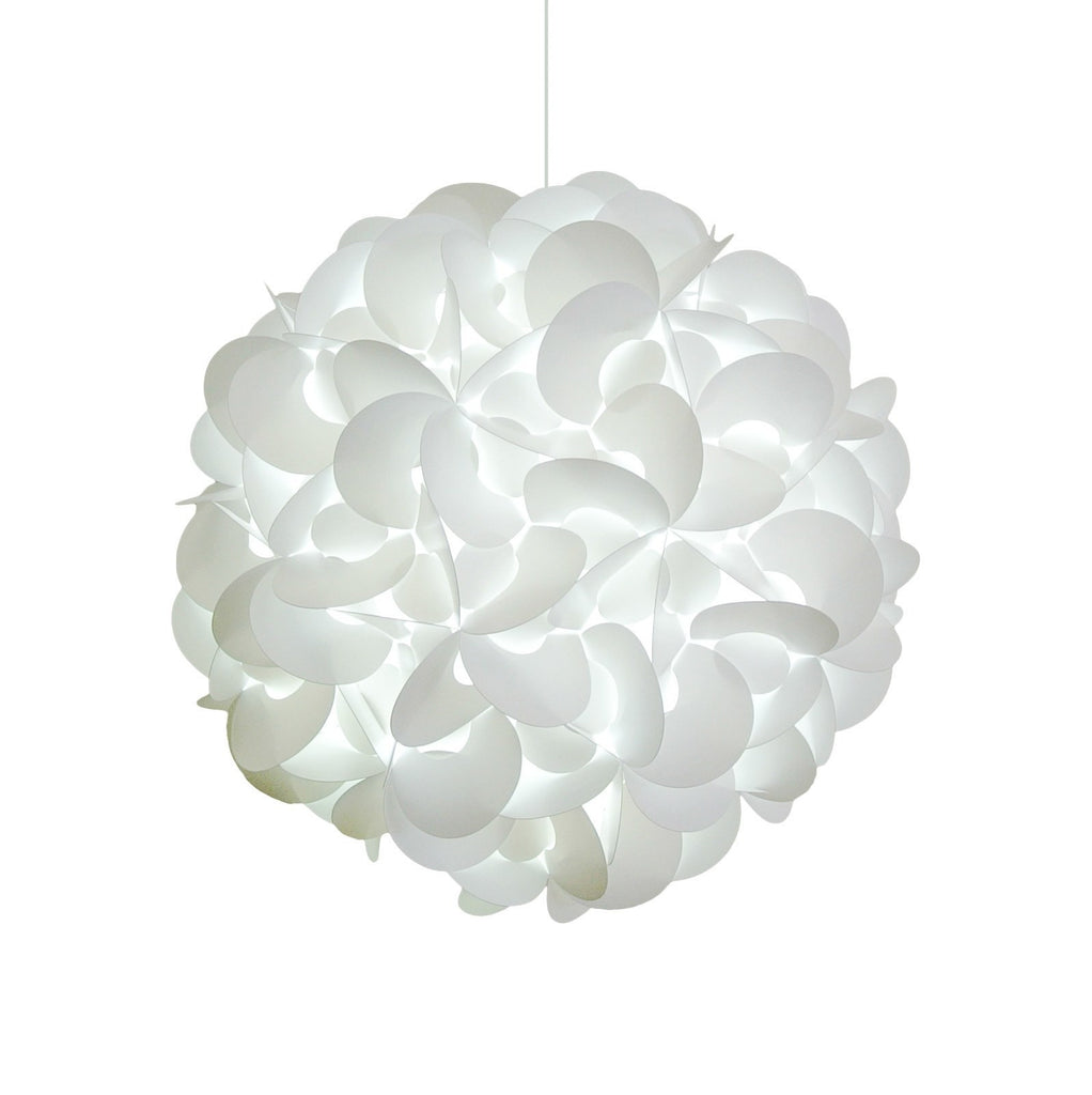 Lighting Deluxe hanging pendant light deluxe rounds cool white led