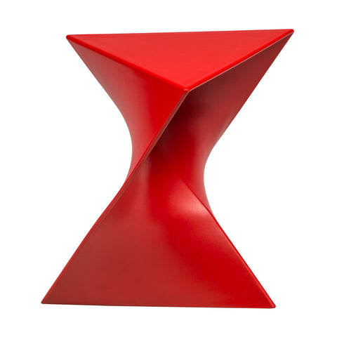 Randolph Modern Triangle Accent Side End Table