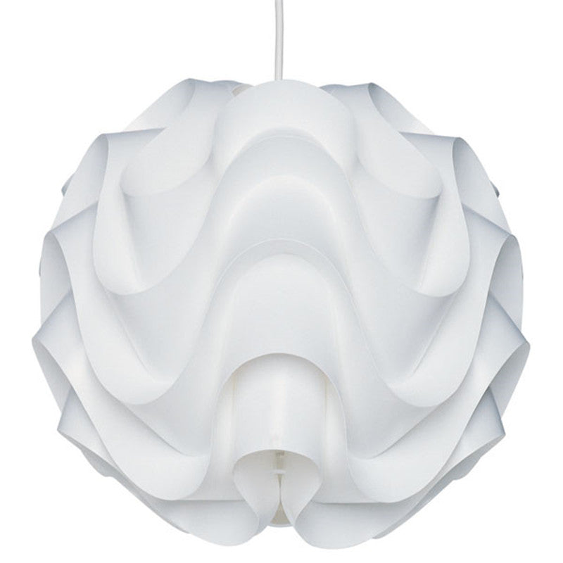 Hanging Pendant Light Fixture - Medium Rounds Cool white LED