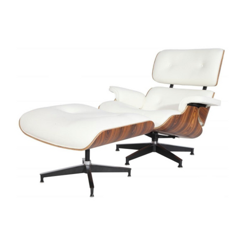 Mid-Century Lounge Chair and Ottoman