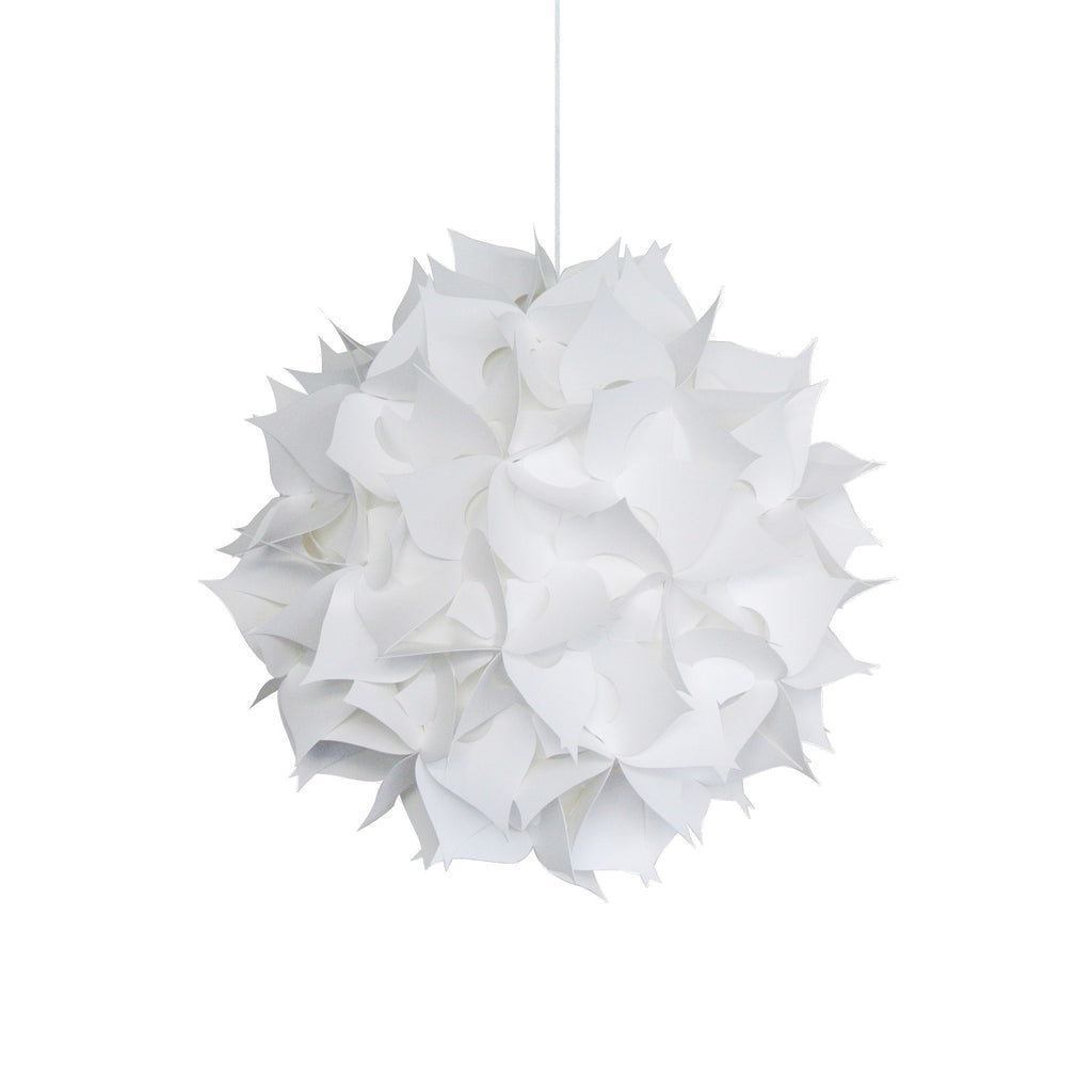 Deluxe Spades Hanging Pendant Light Warm White Glow