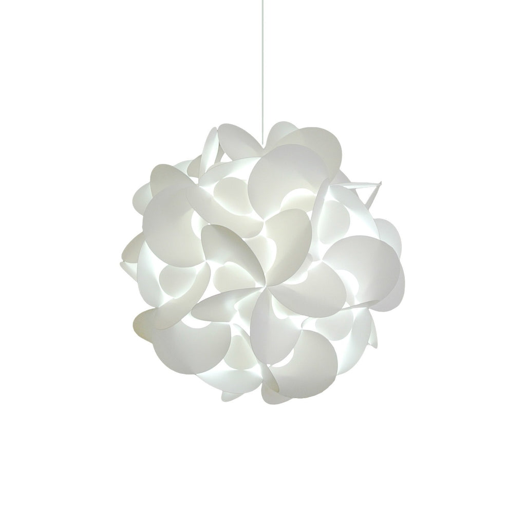 Medium Rounds Hanging Pendant Light - Cool white LED