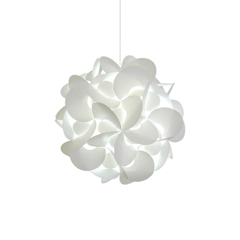 Medium Rounds Hanging Pendant Light - Cool white grow