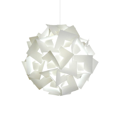Medium Squares Pendant Light - Cool white glow