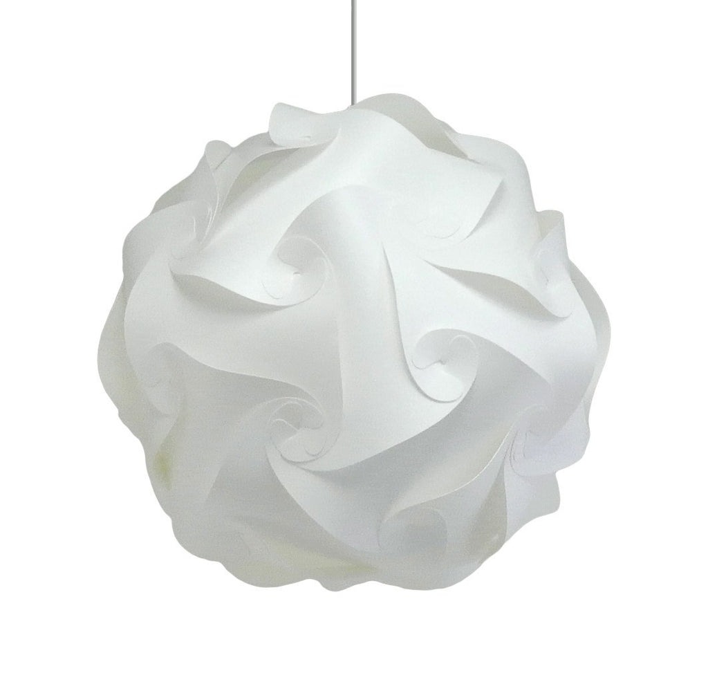 Medium Swirl Hanging Pendant Lamp - Warm White