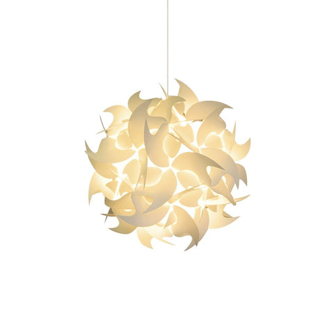 Small Hooks Hanging Pendant Lamp - Warm white glow