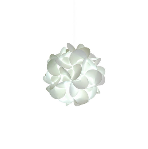 Small Rounds Swag Pendant Light - Cool white glow