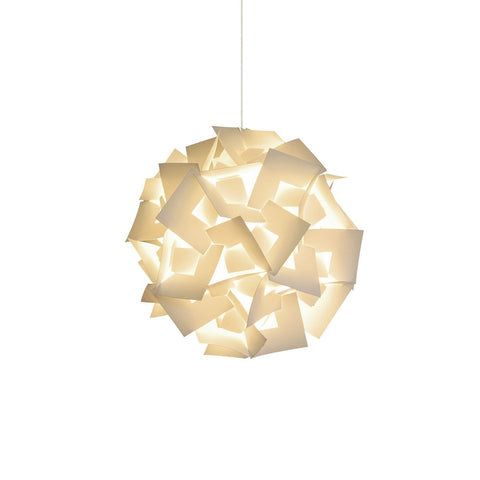Small Squares Hanging Pendant Lamp - Warm white glow