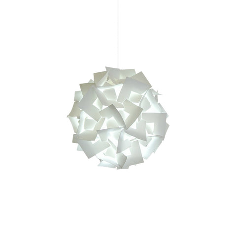 Small Squares Pendant Light - Cool white glow