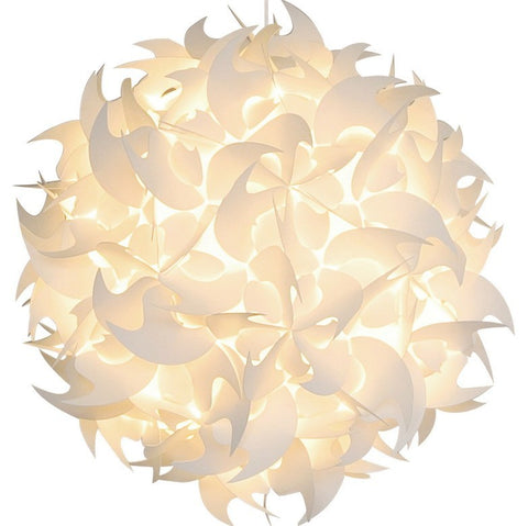 XL Hooks Pendant Light Fixture - Warm white glow