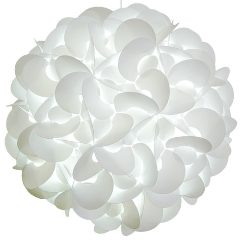 XL Rounds Pendant Light Fixture - Cool white glow