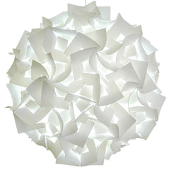 XL Squares Pendant Light Fixture - Cool white glow