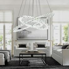 Three Rings Crystal Pendant Chandelier