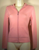 Cashmere zip up Hoody in Pink
