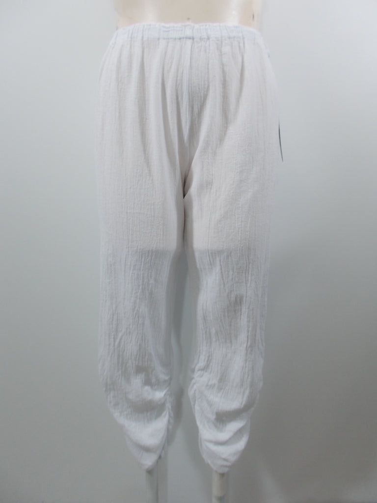 Oh My Gauze - Snow Slim Essie Shirred Leg Pant - Linnea's Boutique & Vera's Threads