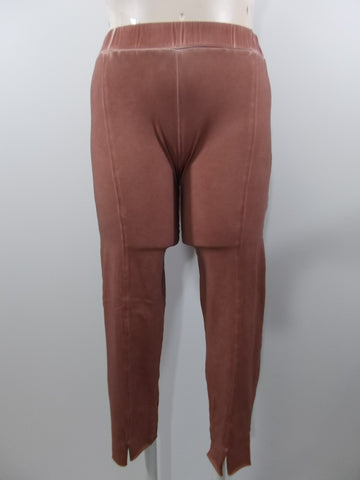 Luukaa - Cinnamon Distressed Cotton Beverly Front Seamed Legging - Linnea's Boutique & Vera's Threads