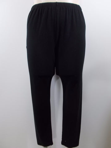 Fenini - Black Basic Leggings