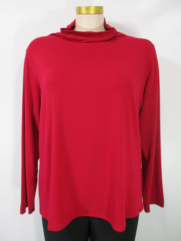 Chalet - Bamboo Redbud Long Sleeve Basic Mock Neck Top - Linnea's Boutique & Vera's Threads
