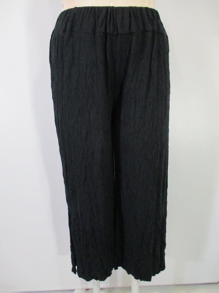 Chalet - Recycled Crinkle Sable(Black) Side Slit Larshell Pant - Linnea's Boutique & Vera's Threads