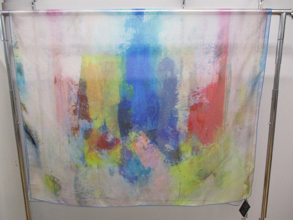UbU - Love Struck Sheer Scarf Artist Prints - Linnea's Boutique & Vera's Threads