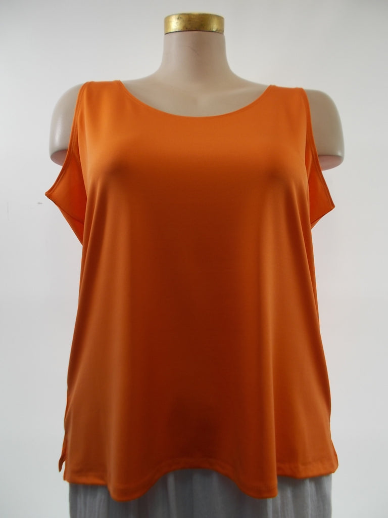 Steven Edwards - Orange Tank- Plus $5 more