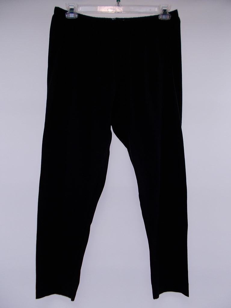 Fenini - Black Basic Crop Leggings