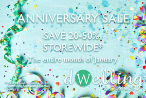 January Anniversary Sale