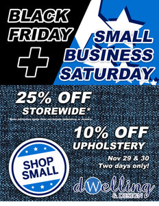 Storewide Sale | Black Friday & Small Business Saturday