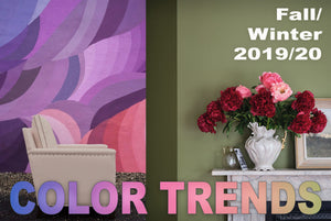 COLOR TRENDS: Fall/Winter 2019