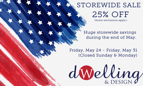 MEMORIAL DAY WEEK LONG SALE