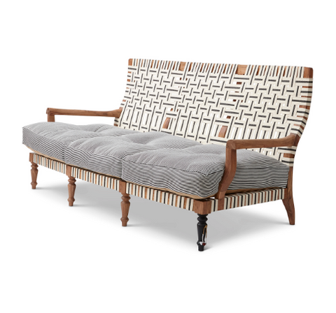 Bunakara | Stripes Loveseat