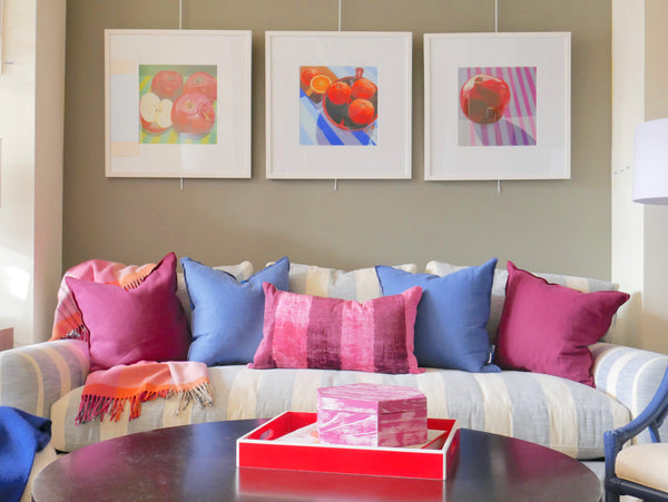 Vignette featuring Berry Colors | Dwelling & Design