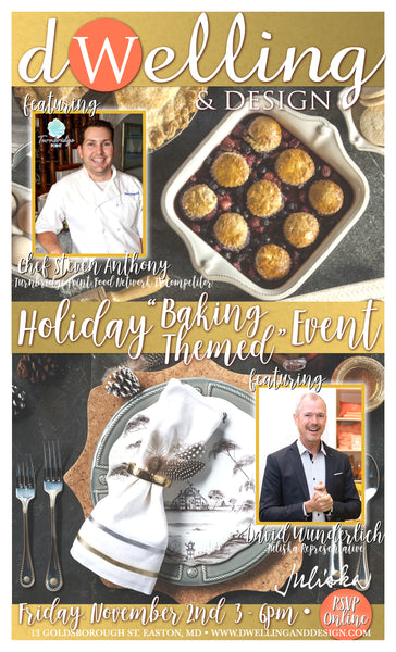"Holiday ""Baking Themed"" Event"
