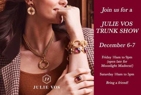 Dwelling & Design | Julie Vos Trunk Show
