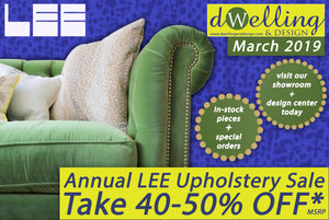 Annual LEE Upholstery Sale