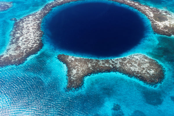 """Blue Hole"" in Belize"